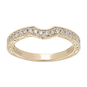 Neil Lane 14ct  gold 0.33ct diamond shaped ring - Product number 4044045