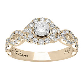 Neil Lane 14ct gold 0.98ct diamond cluster ring - Product number 4044975
