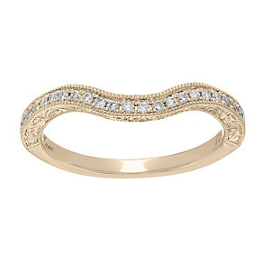 Neil Lane 14ct  gold 0.18ct diamond shaped ring - Product number 4045491