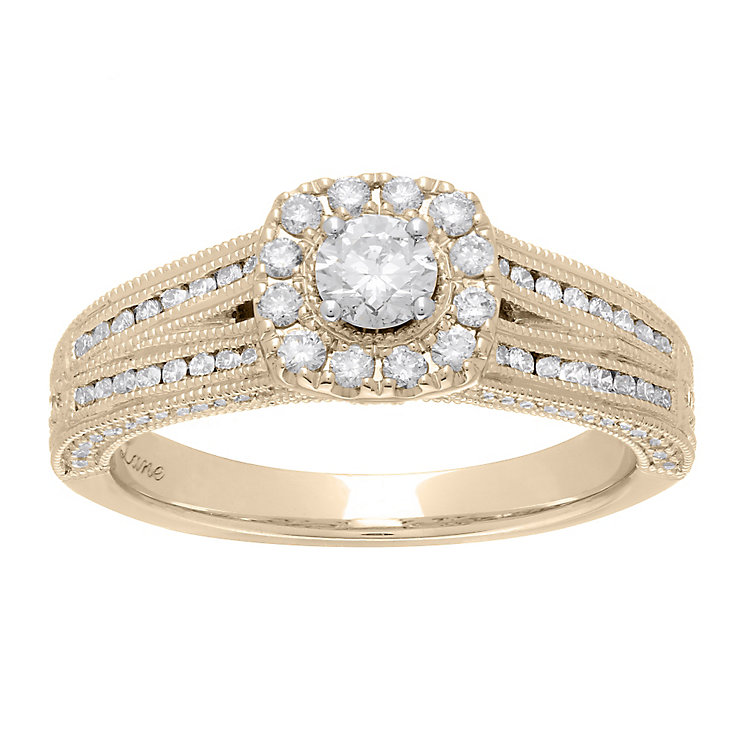 Neil Lane 14ct  gold 0.70ct diamond ring - Product number 4045629