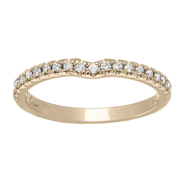 Neil Lane 14ct gold 0.20ct diamond shaped ring - Product number 4046153