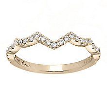 Neil Lane 14ct gold 0.24ct diamond shaped band - Product number 4046307