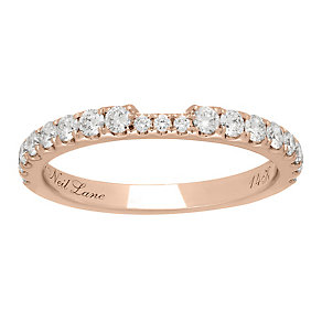 Neil Lane 14ct rose gold 0.50ct diamond ring - Product number 4047907