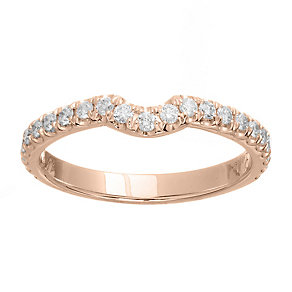 Neil Lane 14ct rose gold 0.33ct diamond ring - Product number 4048164