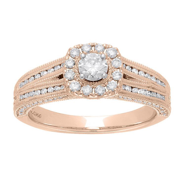 Neil Lane 14ct rose gold 0.70ct diamond ring - Product number 4048962