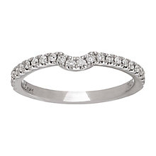 Neil Lane platinum 0.25ct diamond shaped ring - Product number 4049888