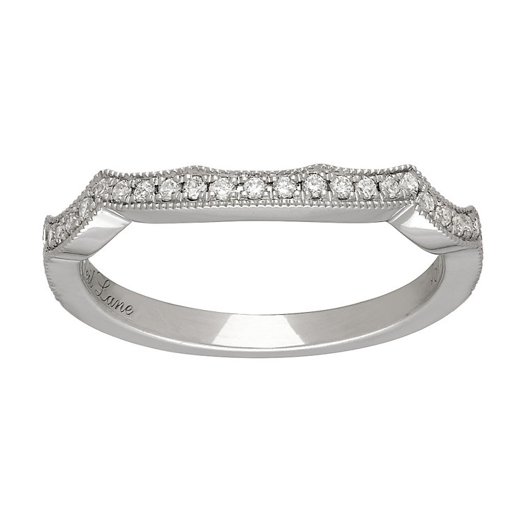 Neil Lane platinum 0.18ct diamond shaped ring - Product number 4050274
