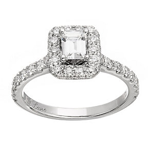 Neil Lane platinum1.39ct diamond halo ring - Product number 4051181