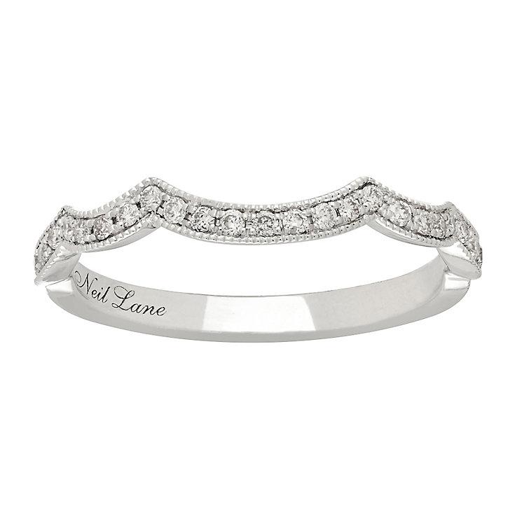 Neil Lane platinum 0.19ct shaped diamond ring - Product number 4051858