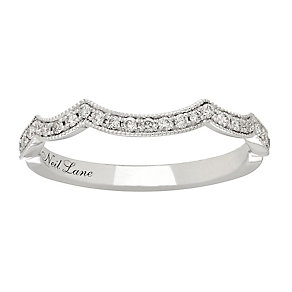 Neil Lane platinum 0.19ct shaped diamond ring - Product number 4051858