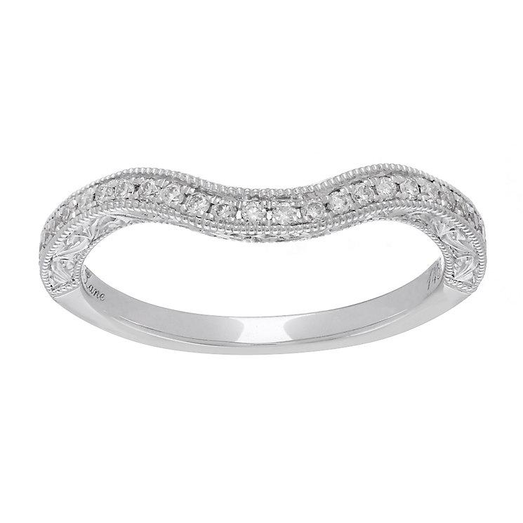 Neil Lane platinum 0.56ct diamond halo ring - Product number 4052390