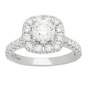 Neil Lane platinum 1.90ct round cut diamond halo ring - Product number 4053877