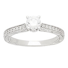 Neil Lane platinum 0.66ct solitaire diamond ring - Product number 4054628