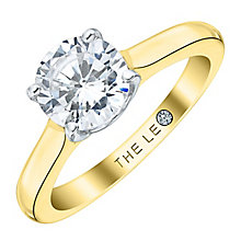 Leo Diamond 18ct Yellow Gold 1.25ct I-SI2 Solitaire Ring - Product number 4061063