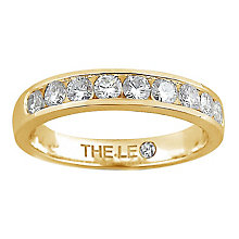 Leo Diamond 18ct gold 0.50ct I-P1 diamond eternity band - Product number 4072529