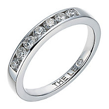 Leo Diamond Platinum 0.33ct  I I1 Channel Set Band - Product number 4073347