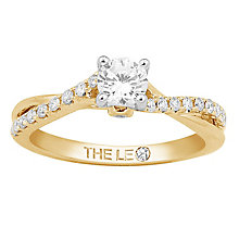 Leo Diamond 18ct gold 2/3ct I-I1 diamond solitaire ring - Product number 4075080