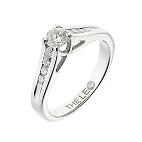 Leo Diamond 18ct white gold 1/2ct I-SI2 diamond ring - Product number 4077482