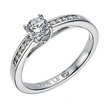 Leo Diamond platinum 0.40ct I-I1 diamond solitaire ring - Product number 4077628