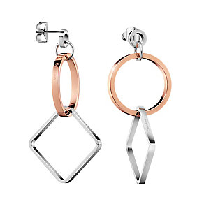 Calvin Klein Wonder Two Colour Drop Earrings - Product number 4082788