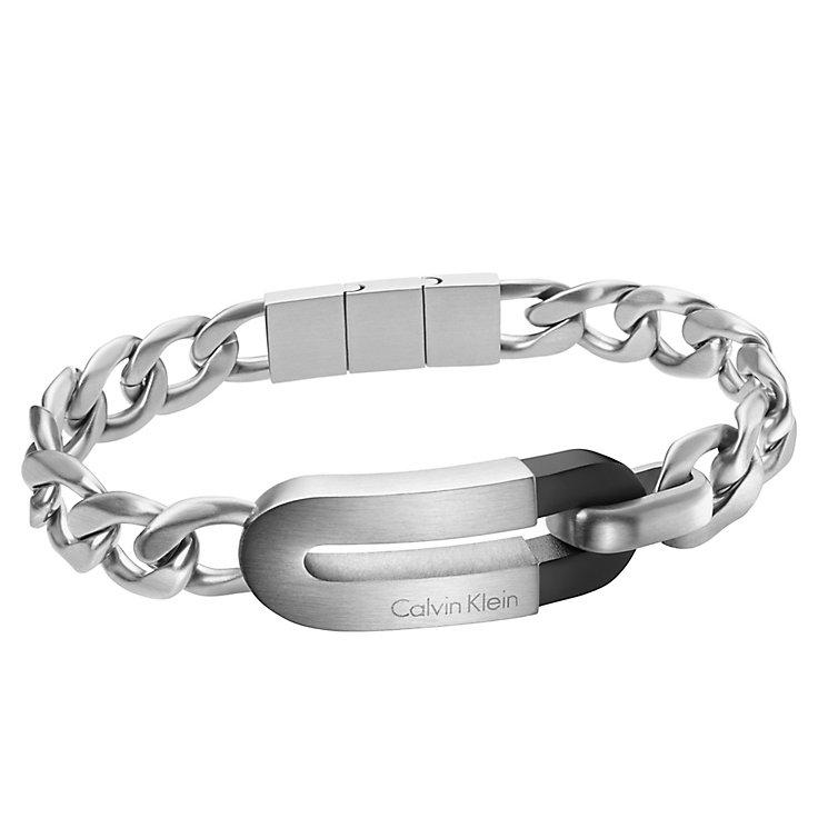 Calvin Klein Men's Stainless Steel Magnet Bracelet - Product number 4082834