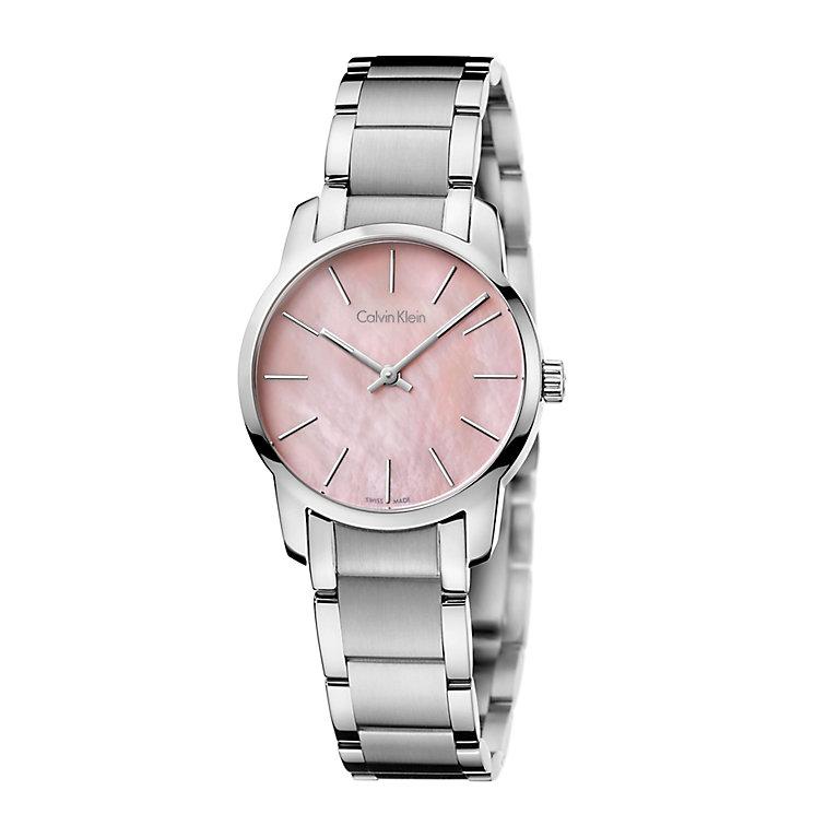 Calvin Klein City Ladies' Stainless Steel Bracelet Watch - Product number 4082885