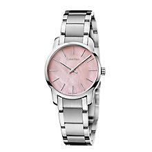 Calvin Klein City Ladies' Stainless Steel Bracelet Watch - Product number 4082885