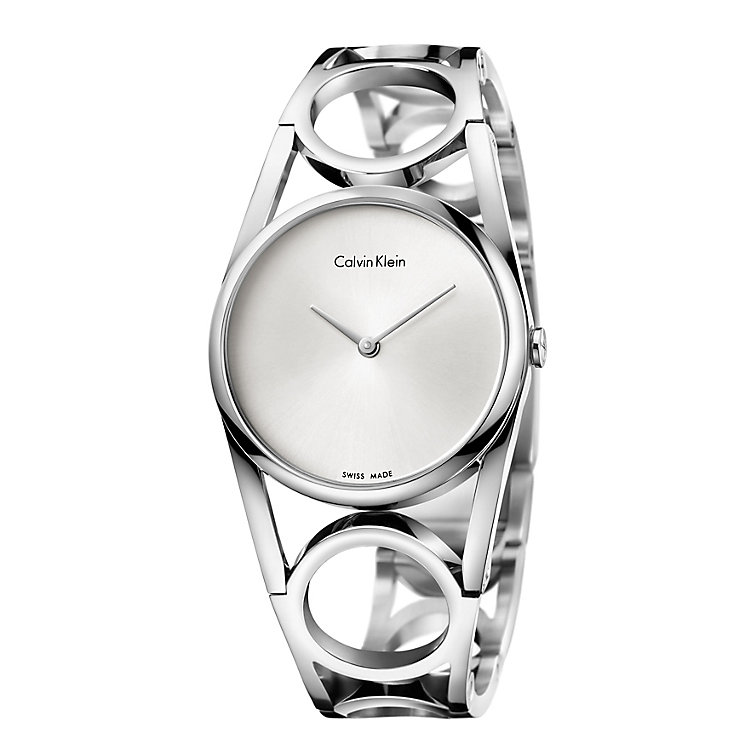 Calvin Klein Ladies' Stainless Steel Round Bracelet Watch - Product number 4082893
