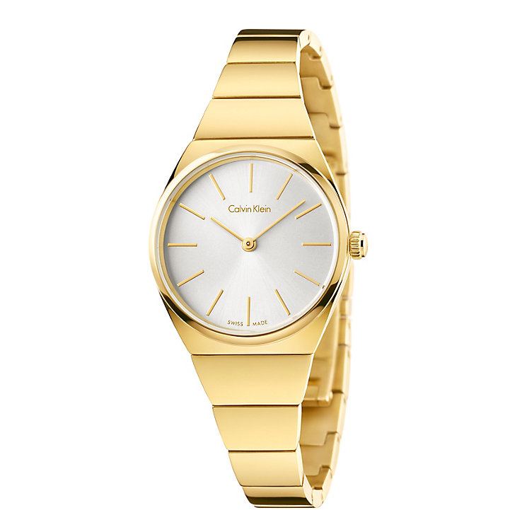 Calvin Klein Supreme Ladies' Gold Plated Bracelet Watch - Product number 4082923