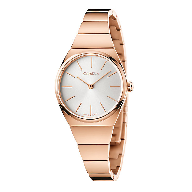 Calvin Klein Supreme Ladies' Rose Gold Plated Bracelet Watch - Product number 4082931