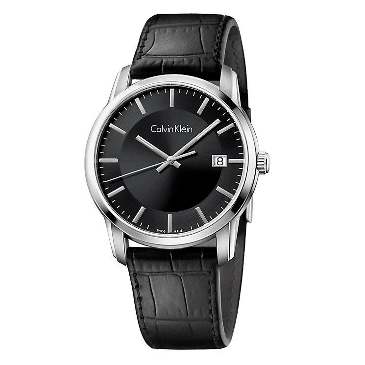Calvin Klein Infinite Men's Black Strap Watch - Product number 4082966