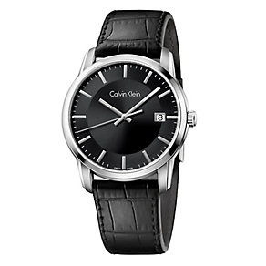 Calvin Klein Infinite Men's Black Strap Watch - Product number 4082966