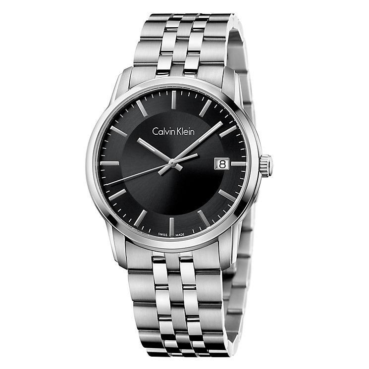 Calvin Klein Infinite Men's Black Bracelet Watch - Product number 4082974