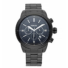 Fossil Men's Ion-plated Black Dial Bracelet Watch - Product number 4085817