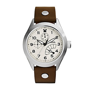Fossil Aeroflite Men's Stainless Steel Strap Watch - Product number 4085906