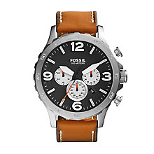 Fossil Nate Men's Stainless Steel Strap Watch - Product number 4085949