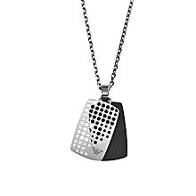 Emporio Armani Iconic Men's Stainless Steel Pendant Necklace - Product number 4087739