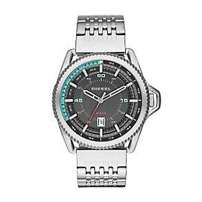 Diesel Men's Gunmetal Stainless Steel Bracelet Watch - Product number 4088344