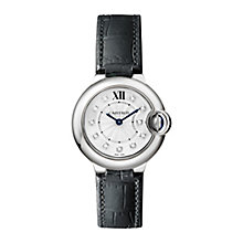 Cartier Ballon Ladies' Stainless Steel Strap Watch - Product number 4088387