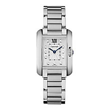 Cartier Tank Ladies' Stainless Steel Bracelet Watch - Product number 4088565