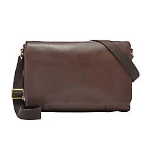 Fossil Aiden Men's Brown Bag - Product number 4088719