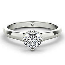 The Diamond Story 18ct white gold 0.90ct diamond solitaire - Product number 4090012