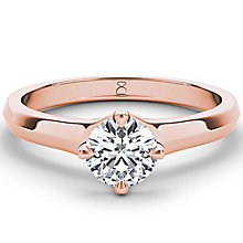 The Diamond Story 18ct rose gold 2ct diamond solitaire ring - Product number 4091574