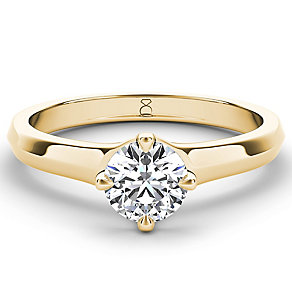 The Diamond Story 18ct gold 0.90ct diamond solitaire - Product number 4092058