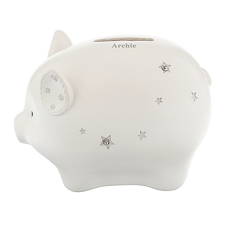 Twinkle Twinkle Piggy Money Box - Product number 4094999