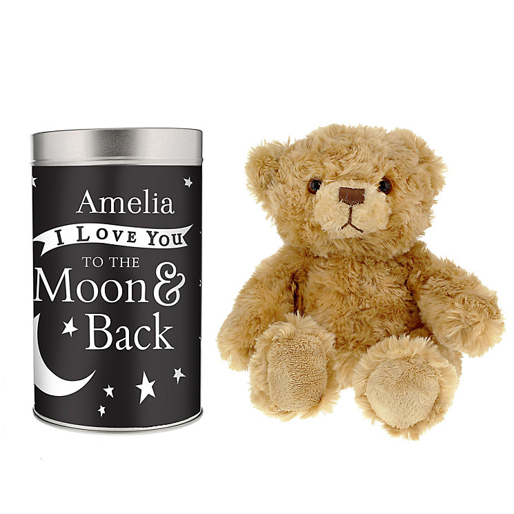 To the Moon and Back... Teddy in a Tin - Product number 4095189