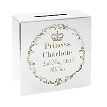 Royal Crown Square Money Box - Product number 4095227