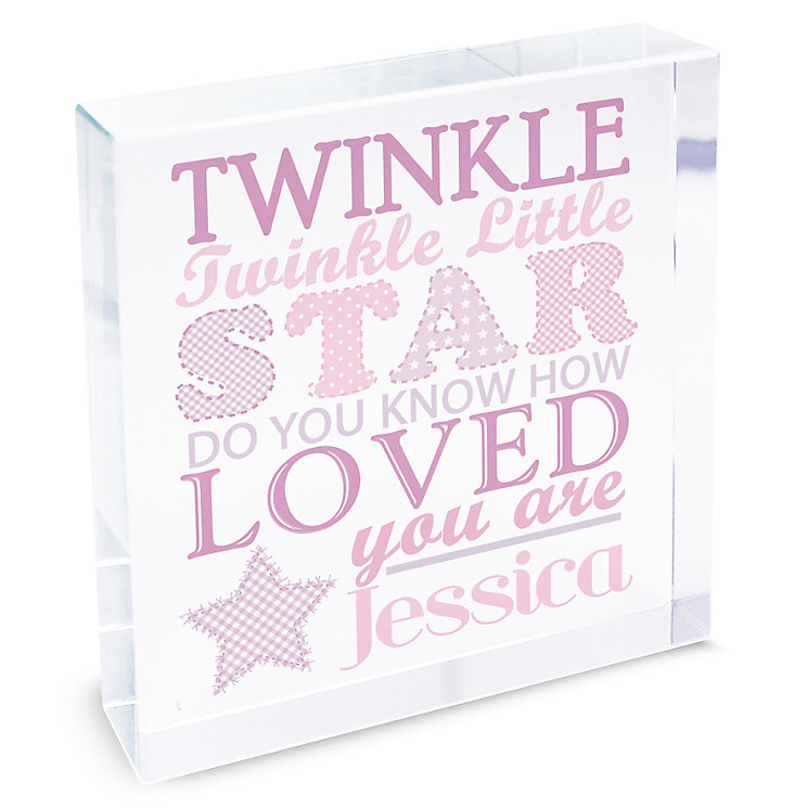Twinkle Girls Large Crystal Token - Product number 4095251