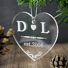 Acrylic Heart Decoration - Product number 4095758