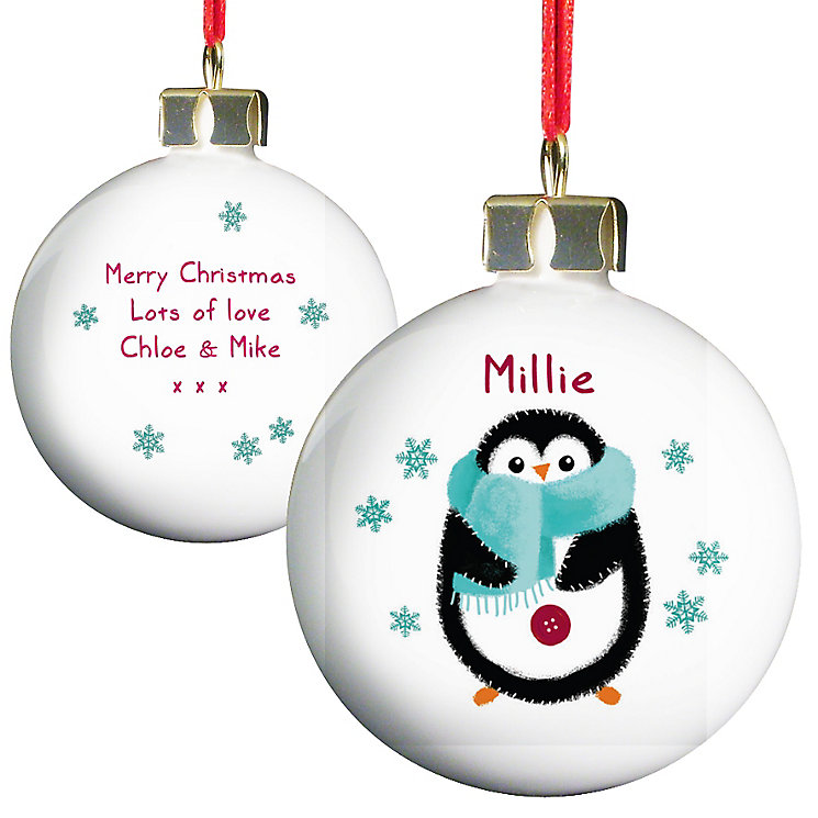 Felt Stitch Penguin Bauble - Product number 4095944
